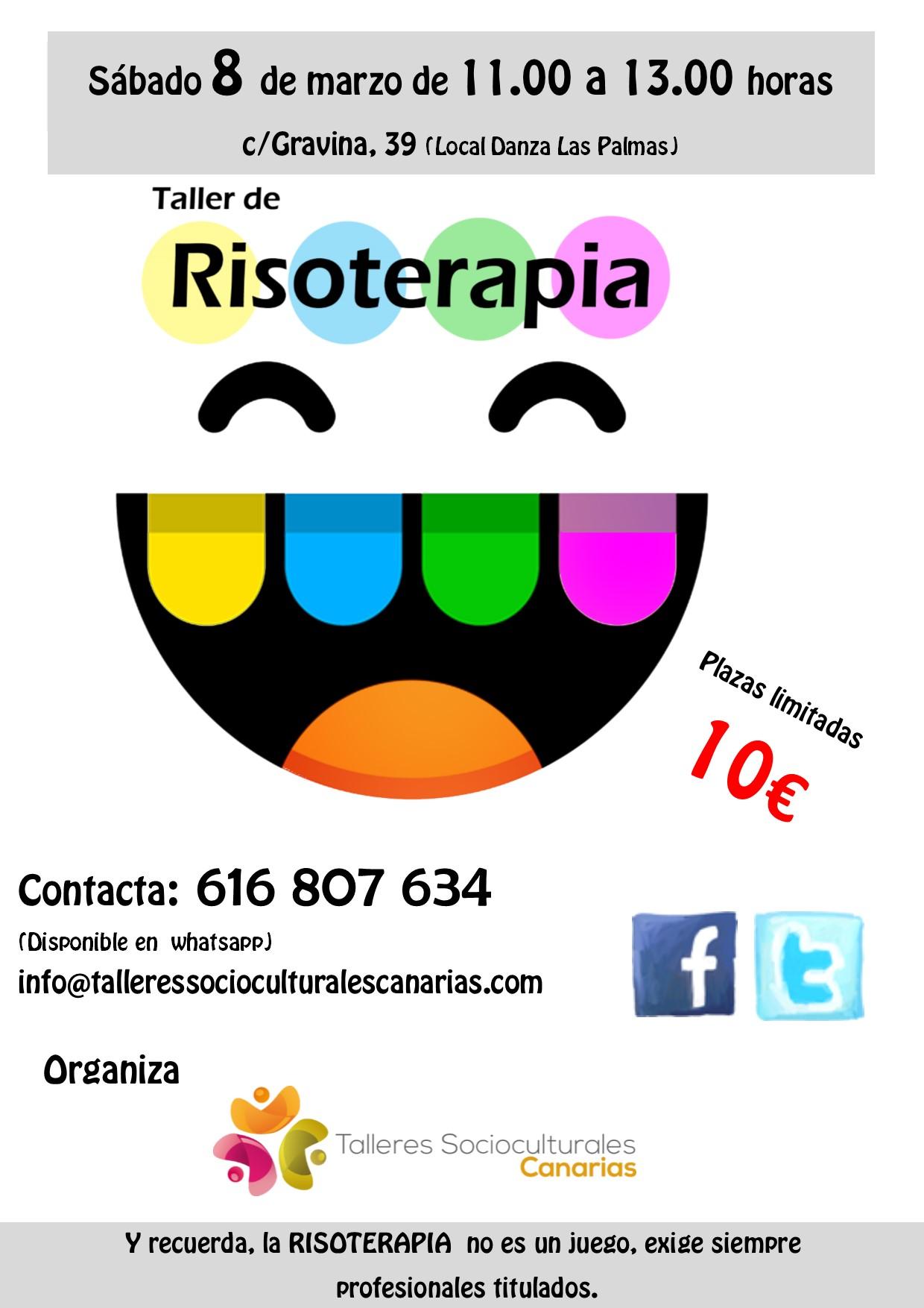 Taller de Risoterapia en Las Palmas de Gran Canaria