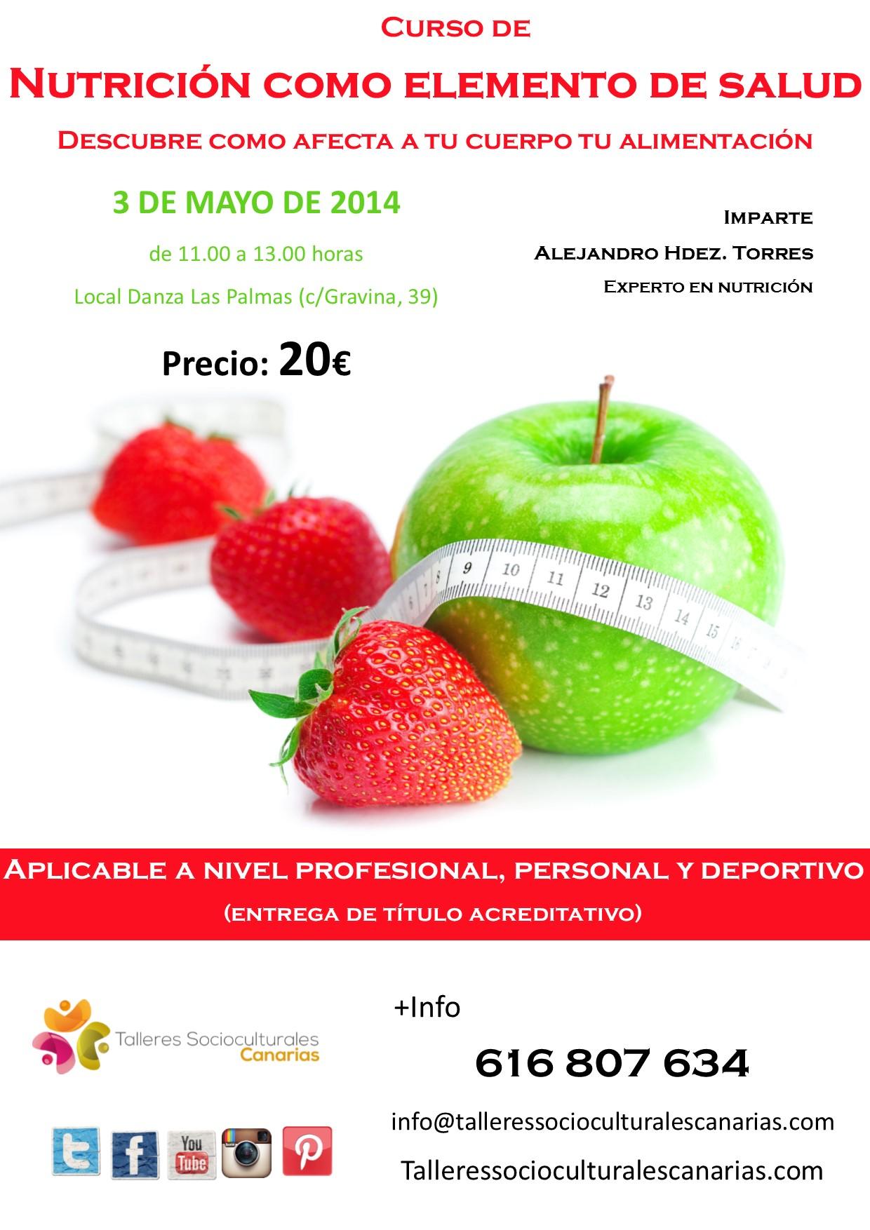 Curso de Nutrición y Salud