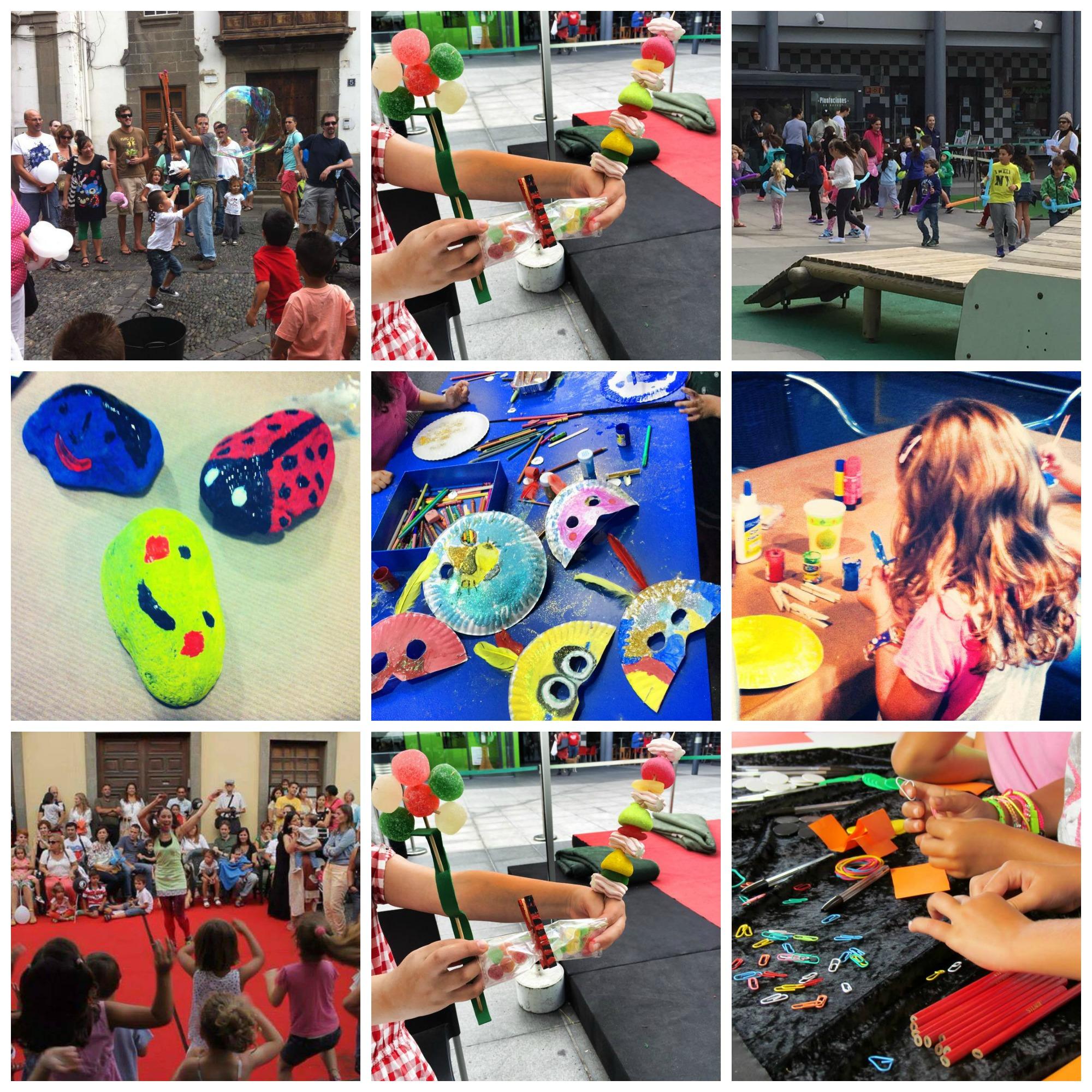 Actividades infantiles en Las Palmas