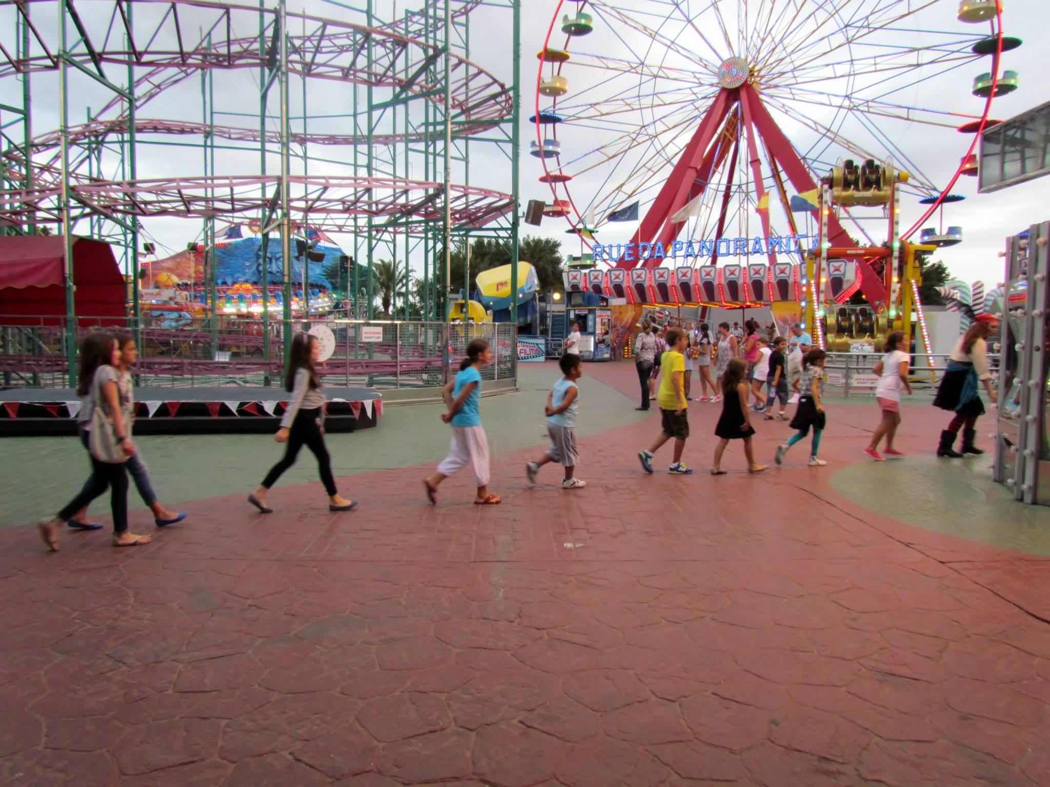 Dinamización infantil en Holidayworld