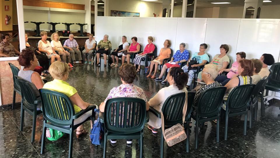 Taller de mindfulness para mayores en Gran Canaria