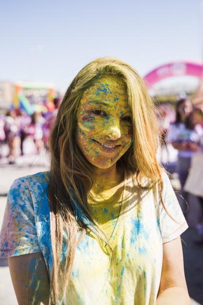Organización de eventos de polvo de colores holi en Gran Canaria